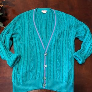 Rodier Cable knit cardigan